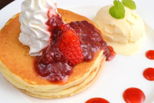 パンケーキ有名店でのお仕事!