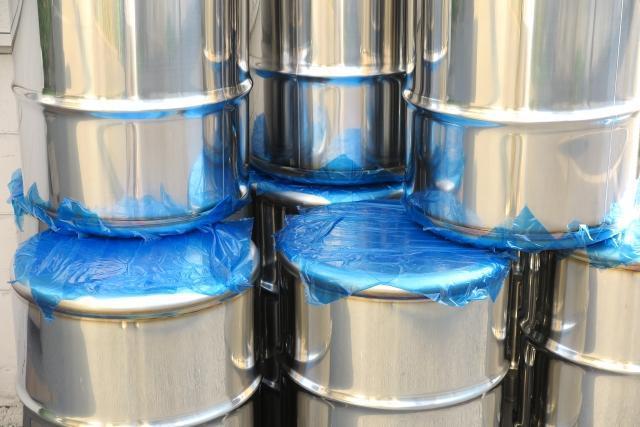 ドラム缶の製造職