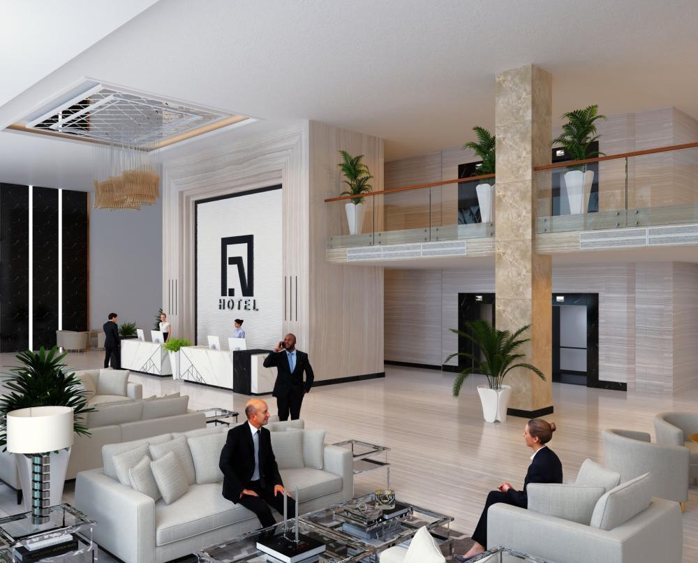 ★ラグジュアリーなホテルでフロント業務