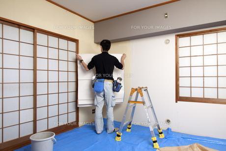 福岡県にある内装工事のお仕事です!!