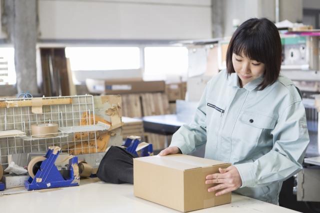 栃木県の工場での梱包のお仕事です!