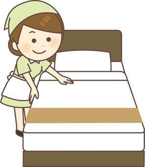 都内にあるホテルの清掃のお仕事になります!!