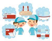 栃木県でのハウスクリーニングのお仕事になります!!