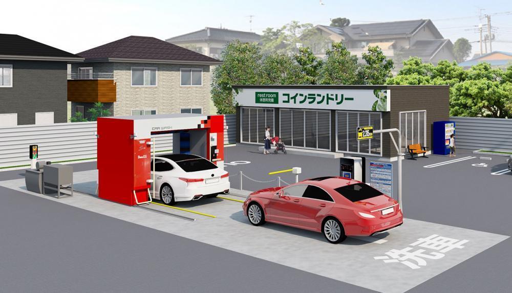 茨城県にある洗車場でのお仕事になります!!